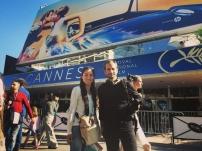 tournage chaine japonaise Cannes